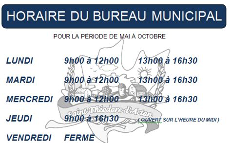 nous joindre 171 municipalit 233 de saint th 233 odore