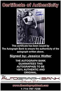 Jessica Walter signed AUTHENTIC 8x10|Free Ship|The ...
