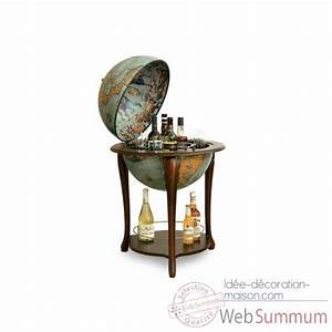 Bar Globe Terrestre : bar mappemonde avec tag re zoffoli dans globe terrestre ancien de d coration marine ~ Teatrodelosmanantiales.com Idées de Décoration
