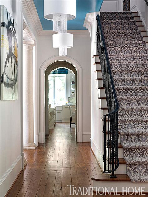 atlanta home  vibrant interiors traditional home