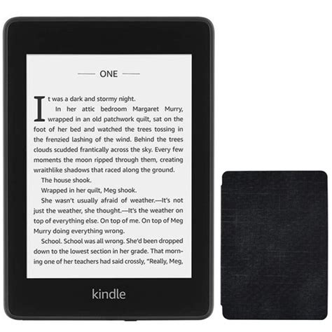 kindle paperwhite waterproof wi fi with special offers 8gb black 10th 2018 bundle