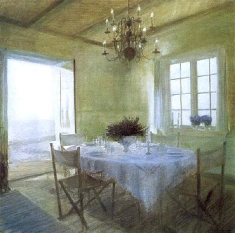 dining table early summer light art print  piet bekaert