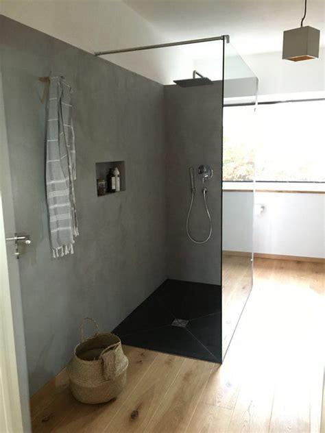 Beton Mineral Dusche by Die Besten 25 Beton Badezimmer Ideen Auf