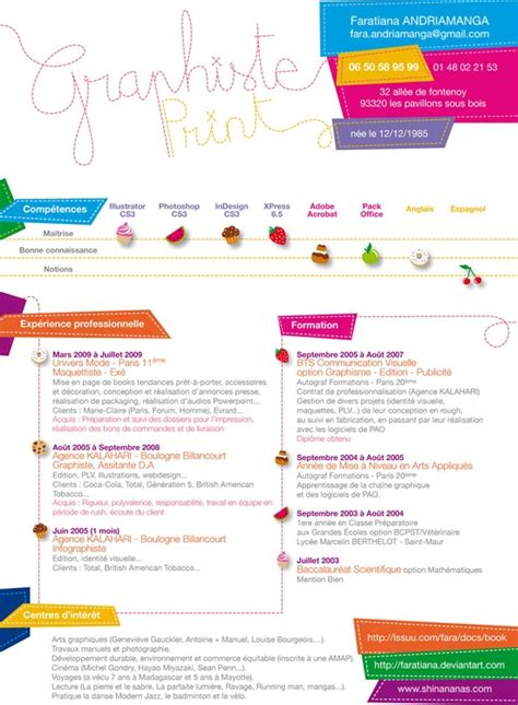 15 Beautiful Resume Designs For Your Inspiration by Attractive Cv Resume Design Inspiration Creative R 233 Sum 233