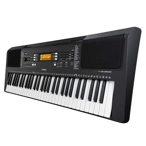 yamaha psr e363 yamaha psr e363 portable keyboard at gear4music