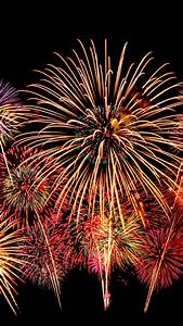 Wallpaper Fireworks  New Year  Hd  5k  Celebrations   7289