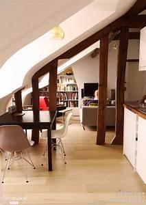 Appartement Sous Comble : appartement sous les combles agence kp c t maison ~ Dallasstarsshop.com Idées de Décoration