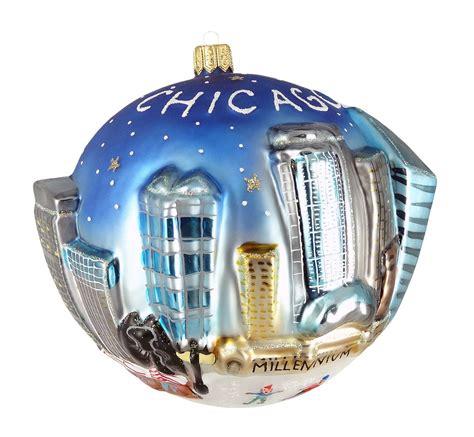 city of chicago christmas ornaments christmas ornament shop