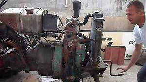 Fendt Dieselross F 15 Engine Start
