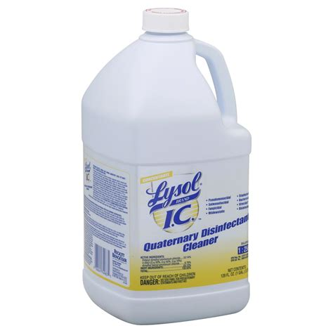 Lysol Floor Cleaner Concentrate by Lysol I C Disinfectant Cleaner Quaternary Concentrate