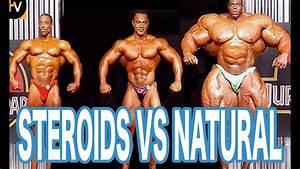 Steroids Vs Natural - Bodybuilding