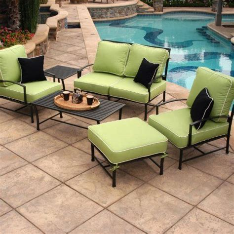 patio conversation sets charcoal gray and loveseats on