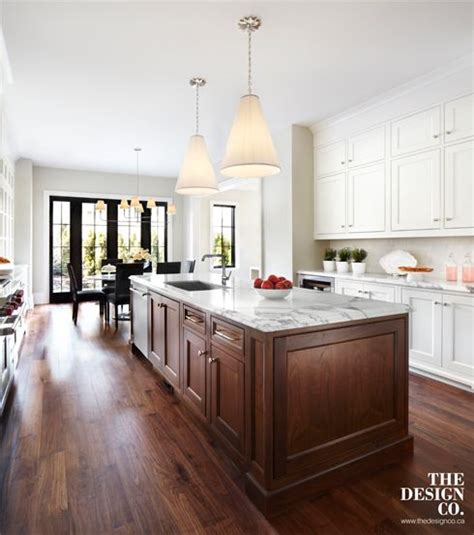 walnut kitchen island custom kitchen white kitchen white cabinetry marble 3345