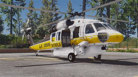 S-70a Firehawk Fire Fighting Helicopter [add-on