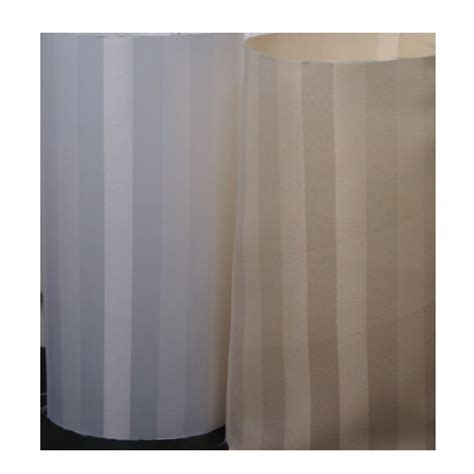 3 x 6 satein woven stripe polyester shower curtain beige