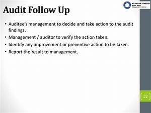 Audit report writing for Audit follow up template