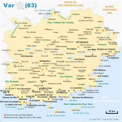 Carte Du Var Avec Toutes Les Villes by Location Vacances H 233 Bergement Var 83 S 233 Jour Var 83