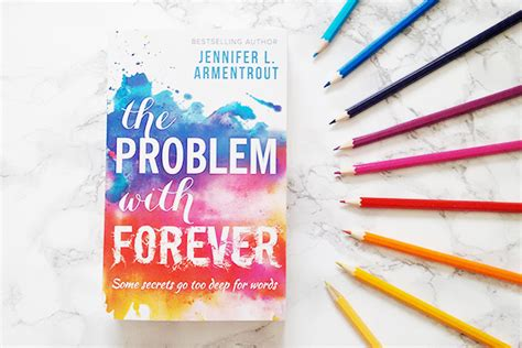 page to stage reviews book review the problem with forever by l armentrout tour