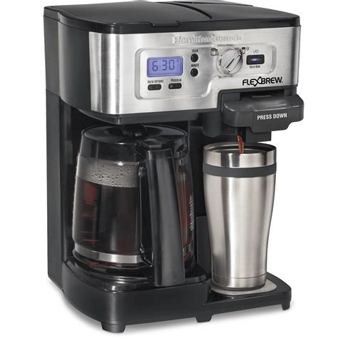 While i believe this coffee maker was originally made in the usa, it is now manufactured in china. Hamilton Beach FlexBrew 2-Way Coffee Maker (Refurbished)