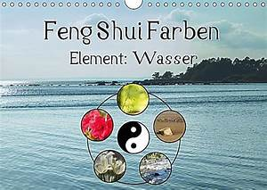 Feng Shui Wasser : feng shui farben element wasser wandkalender 2018 din a4 quer kalender bestellen ~ Indierocktalk.com Haus und Dekorationen