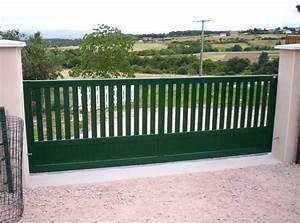 Portail Coulissant Castorama : portail coulissant lectrique lapeyre ~ Edinachiropracticcenter.com Idées de Décoration