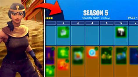 season  battle pass skins leaked  fortnite