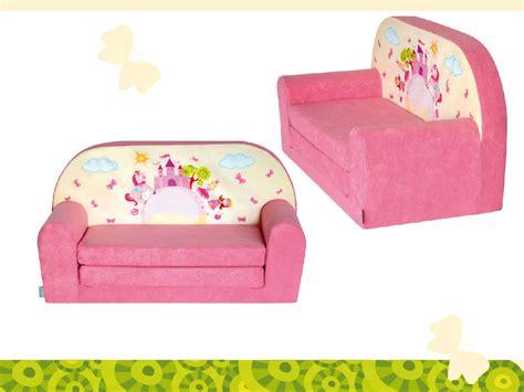 mini canapé lit mini canapé lit enfant château rosefauteuils poufs matelas