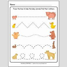 Printable Tracing Lines Worksheets Tribobot
