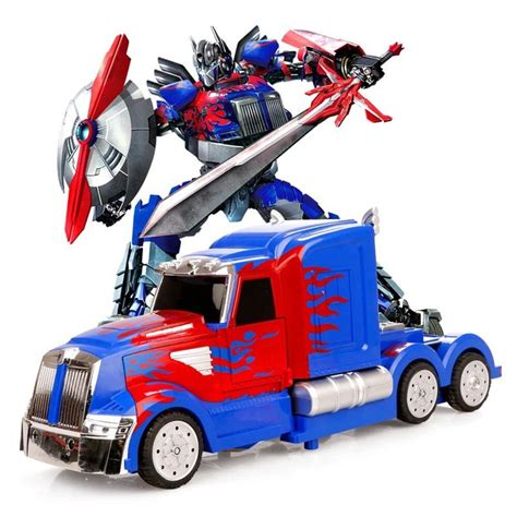 mz transformers 2335p rc ir warrior optimus prime 8