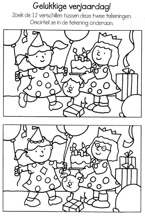 Kleurplaat Gelukkige Verjaardag by Kleurplaten Gelukkige Verjaardag
