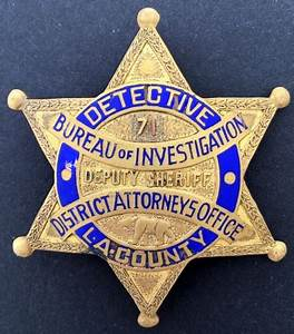 Los Angeles Co. Badges