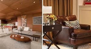 tapis shaggy gris beige ou blanc en 120 idees pour le salon With tapis d entrée avec canapé chaleureux