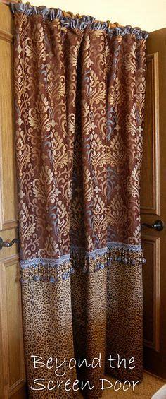 animal print on shower curtains zebra print