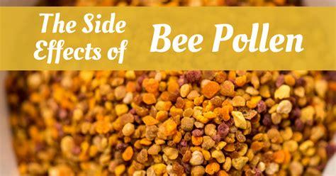side effects  bee pollen