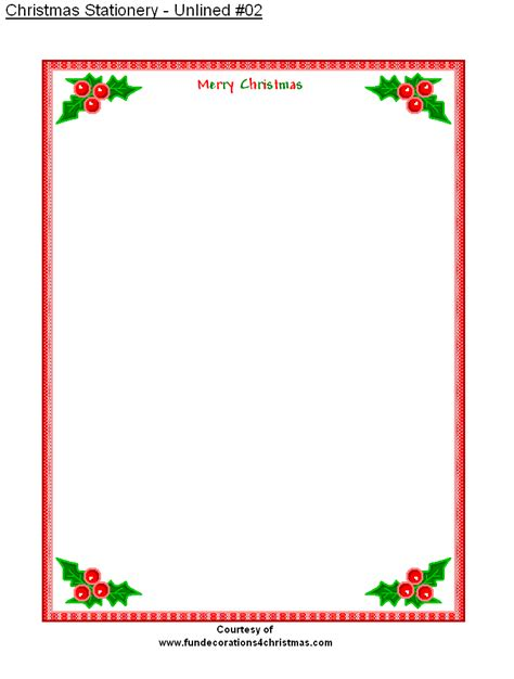 printable stationery  printable unlined