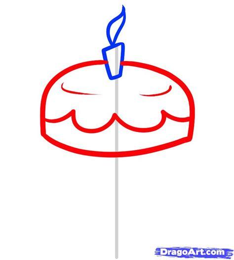 draw  cake  kids step  step food pop