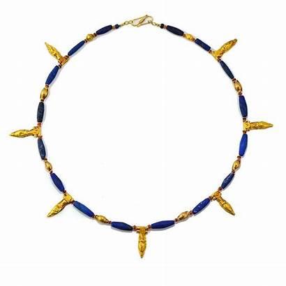 Jewelry Ancient Carnelian Necklace Lapis Lazuli Mesopotamian
