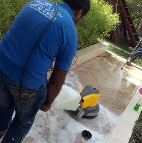 floor polishing restoration for marble granite limestone