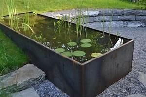 Wasser Filtern Selber Bauen : garten wasserbecken metall knechtgarten wasser im garten ~ Michelbontemps.com Haus und Dekorationen