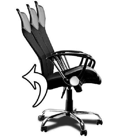 fauteuil bureau inclinable fauteuil chaise de bureau noir inclinable ergonomique