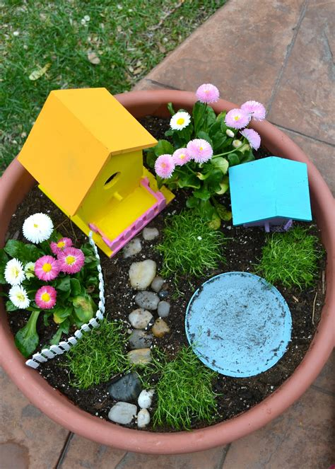 Real Life, One Day At A Time A Fairy Garden