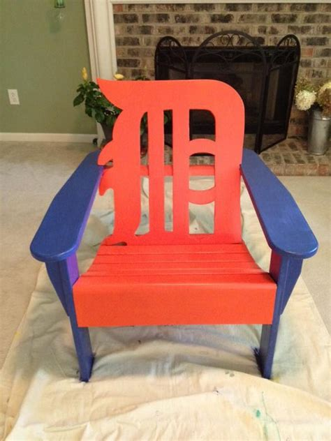 detroit tiger s adirondack chair by bob areddy