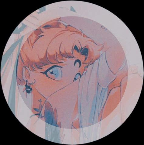 Aesthetic Anime Pfp Circle Red Aesthetic Circle Rain