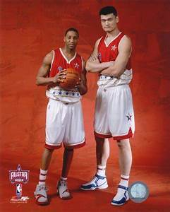 """Yao """"The Walking Great Wall"""" Ming, Tallest Professional ..."""