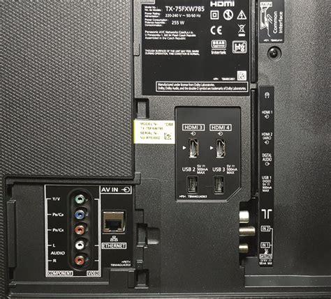panasonic tx fxw test audiovision
