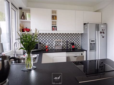 photo deco cuisine cuisine salle à manger indus scandinave