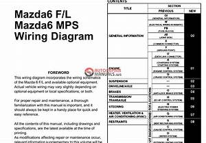 2004 Mazda 6 Wiring Diagram