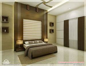 Beautiful bedroom interior designs kerala house design for Home interior bedroom