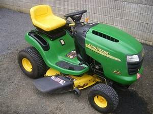 2003 John Deere L110 Lawn  U0026 Garden And Commercial Mowing