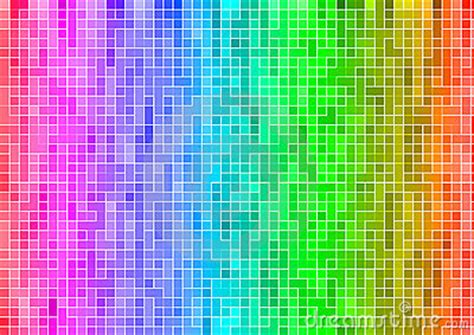 rainbow multicolor abstract pixel wallpaper royalty